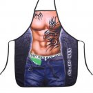 Creative Stylish Apron Tattoo Man