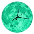 Creative Moon Noctilucent Wall Clock