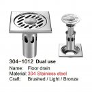 SELECT 304-1012 DUAL USE 304 Stainless steel floor drain PRINCE FOX