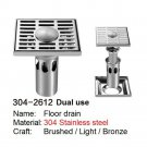 SELECT 304-2612 DUAL USE 304 Stainless steel floor drain PRINCE FOX