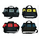 Thicken Oxford Multi Funtional Toolkit Organizer with Carry Belt  Black&yellow