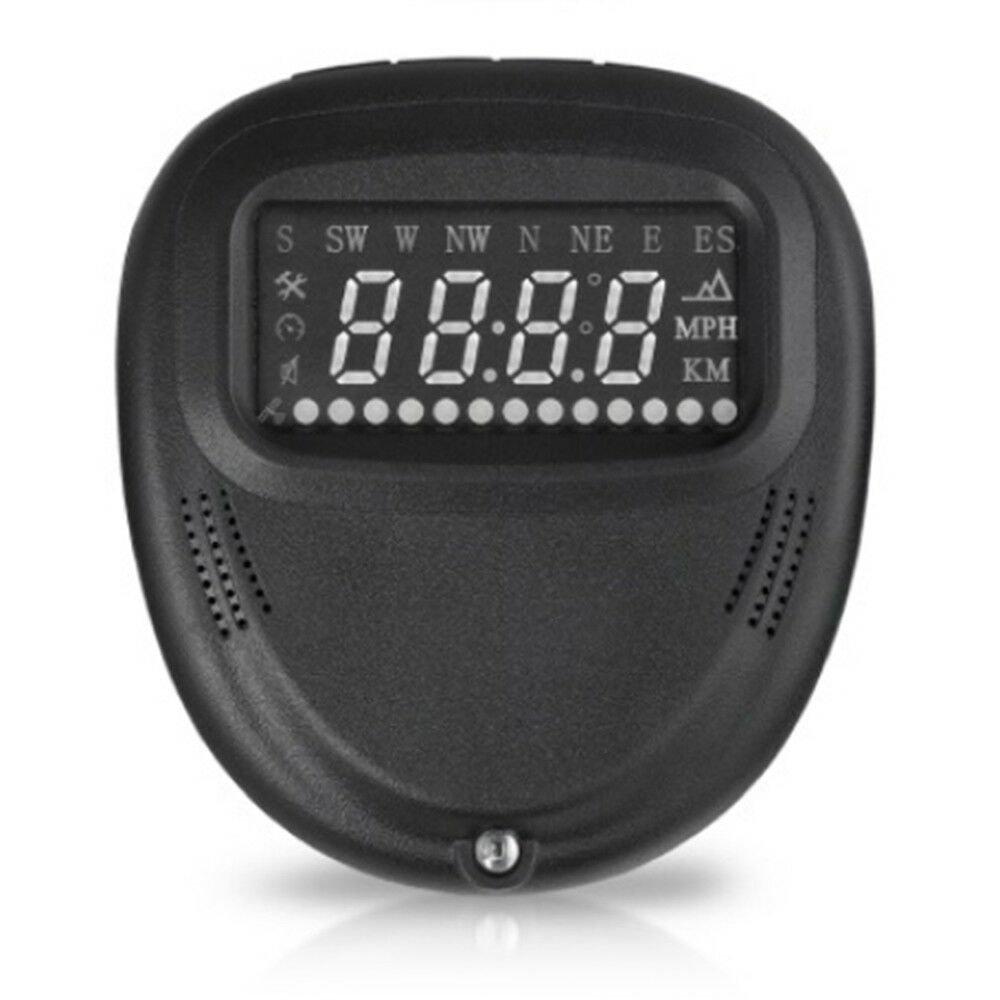 A1 Car HUD Head Up Display GPS KMH MPH Projector Speed Warning
