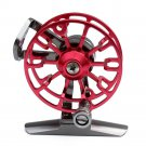 Aluminum Fishing Wheel Polley Fishing Gear  HE50   RED
