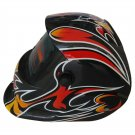 Welding Helmets for Sale on Discounts with Dark Shade & Multicolor Graphic Desig