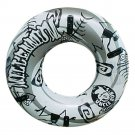 Adults Infaltable Swimming Ring PVC Life Buoy