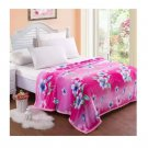 Two-side Blanket Bedding Throw Coral fleece Super Soft Warm Value 180cm 42