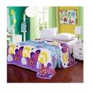 Two-side Blanket Bedding Throw Coral fleece Super Soft Warm Value 180cm 23