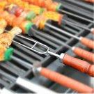Single handle stainless steelgrill tool accessories U-grilled lamb skewers