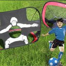 Gate Football Soccer Goals Pop Up Net Tent Kids Outdoor Play Toy