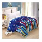 Two-side Blanket Bedding Throw Coral fleece Super Soft Warm Value 200cm 37