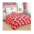 Two-side Blanket Bedding Throw Coral fleece Super Soft Warm Value 200cm 24