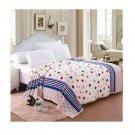 Two-side Blanket Bedding Throw Coral fleece Super Soft Warm Value 180cm 21