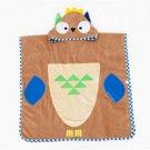 Bathrobe Child Cartoon Bath Beach Towel Long     brown owl