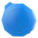 BTM101 Silica Gel Crashproof Mini Portable Stereo Speaker    Blue