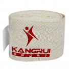 Boxing Free Combat Taekwondo Hand Wraps white