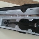 Student Acoustic Violin Size 1/8 Maple Spruce with Case Bow Rosin Black Color
