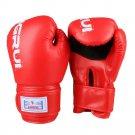 Boxing Gloves Punch Bag Gloves Wear Resistant red