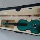 Student Acoustic Violin Size 1/4 Maple Spruce with Case Bow Rosin Green Color