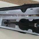 Student Acoustic Violin Size 3/4 Maple Spruce with Case Bow Rosin Black Color