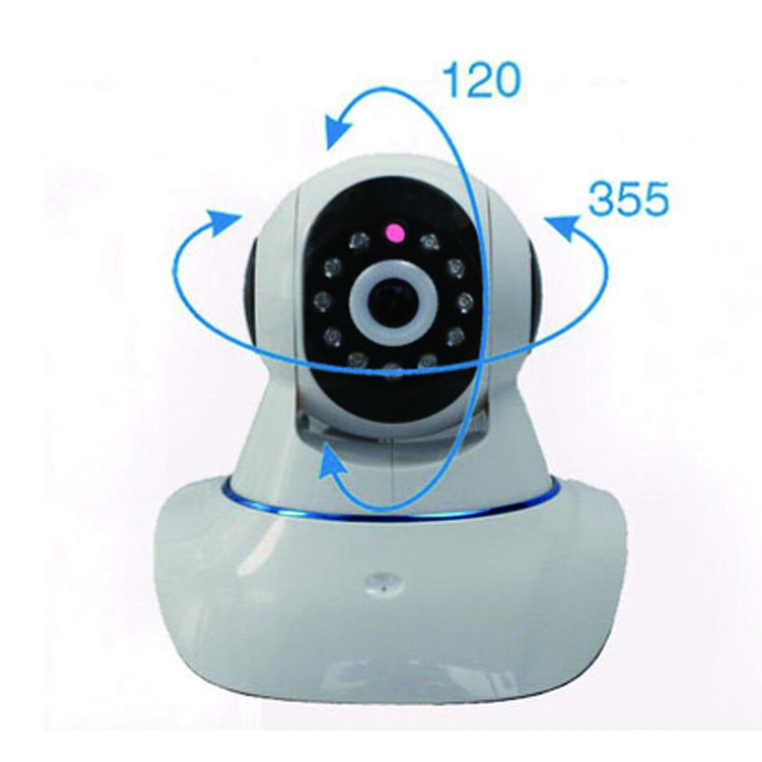 CCTV WIFI 720P high definition H.264 P2P IP online homepage infrared monitoring