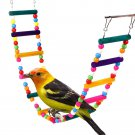 Bird Toy Parrots Toy 12 Stairs Ladder