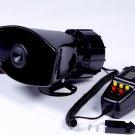 100W 12V 5 Sounds Motobike Car Van Truck Speaker Loud Siren Horn 105db With MIC