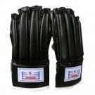 Free Combat Gloves Boxing Training Tournament Black