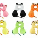 Baby Child Head Neck Support Headrest Travel Car Seat Pillow Cushion Cartoon
