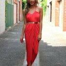 Casual Thigh Split Bodycon Wrap Style Party Dress