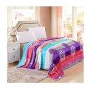 Two-side Blanket Bedding Throw Coral fleece Super Soft Warm Value 180cm 22