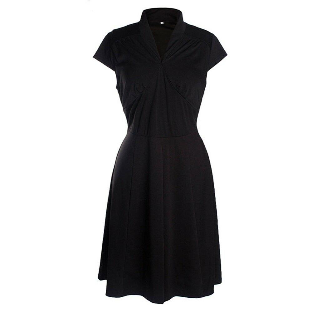 Sleeveless Sexy Skinny Short Skirt Dress   black