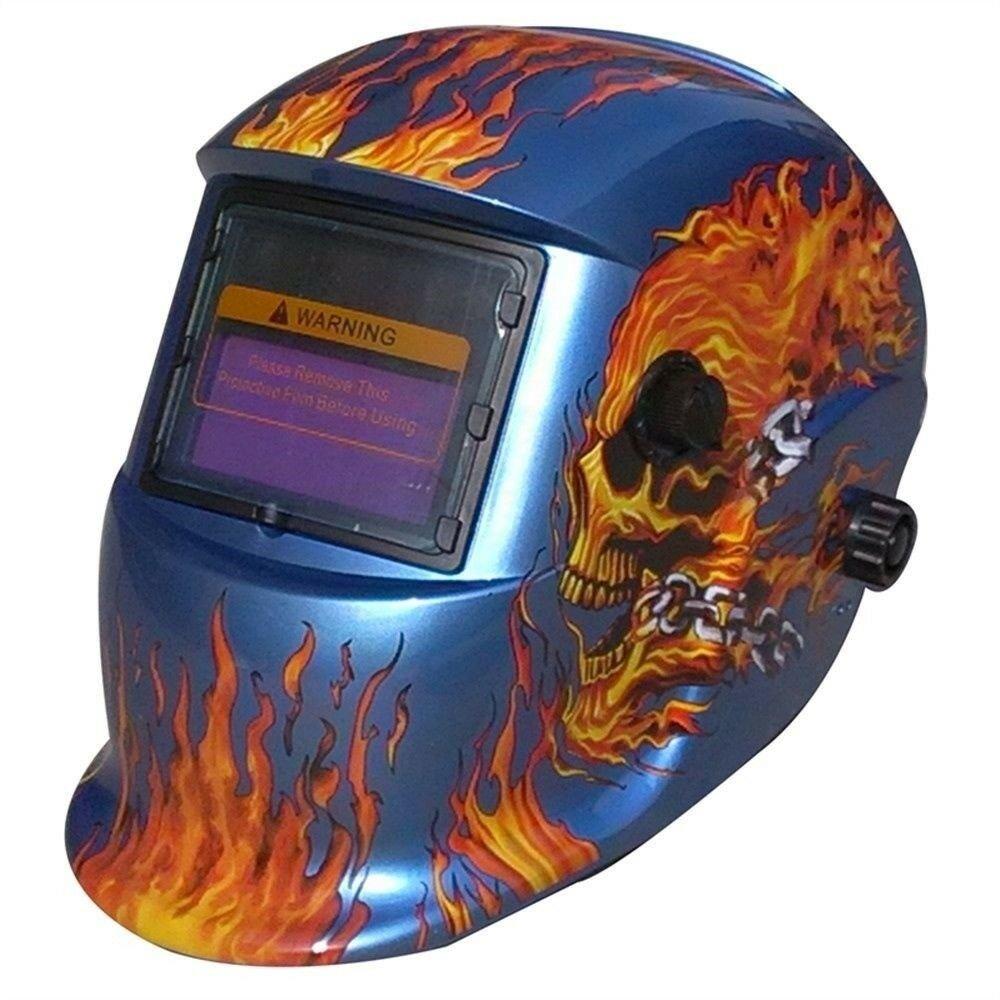 Auto Darkening Welding Helmet with Conformity on CE & ANSI Z87 Standards