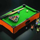 Popular pool bar drinking fun toy Doujiu party mini billiards table props Wine