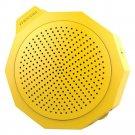 BTM101 Silica Gel Crashproof Mini Portable Stereo Speaker    Yellow