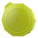BTM101 Silica Gel Crashproof Mini Portable Stereo Speaker    Green