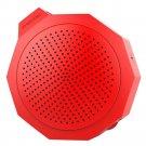 BTM101 Silica Gel Crashproof Mini Portable Stereo Speaker    Red