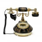 Vintage dail button Phone Chinese Procelain Style Old Fashioned Handset Tele