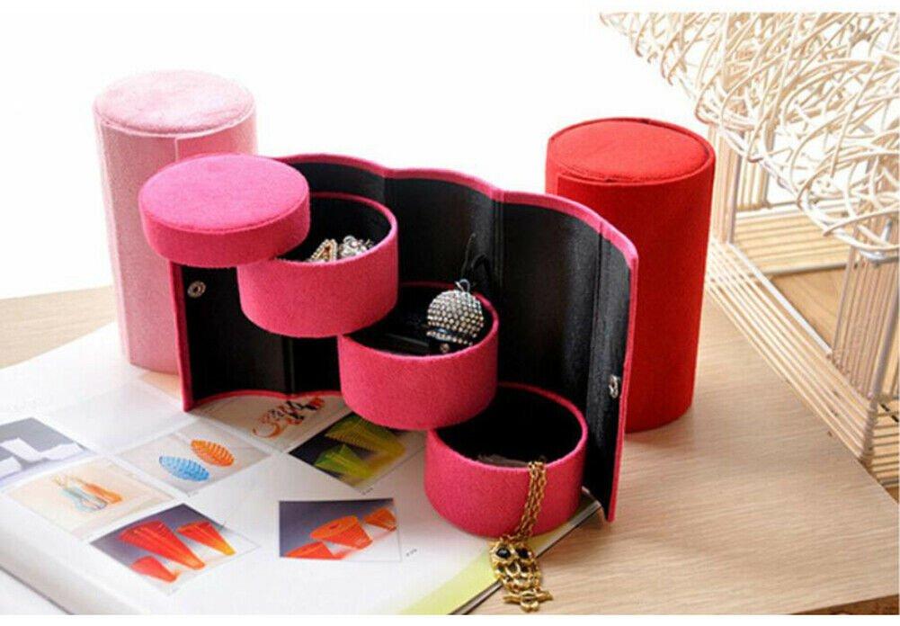 Jewellery Box Ring Earring Organizer 3-Layers