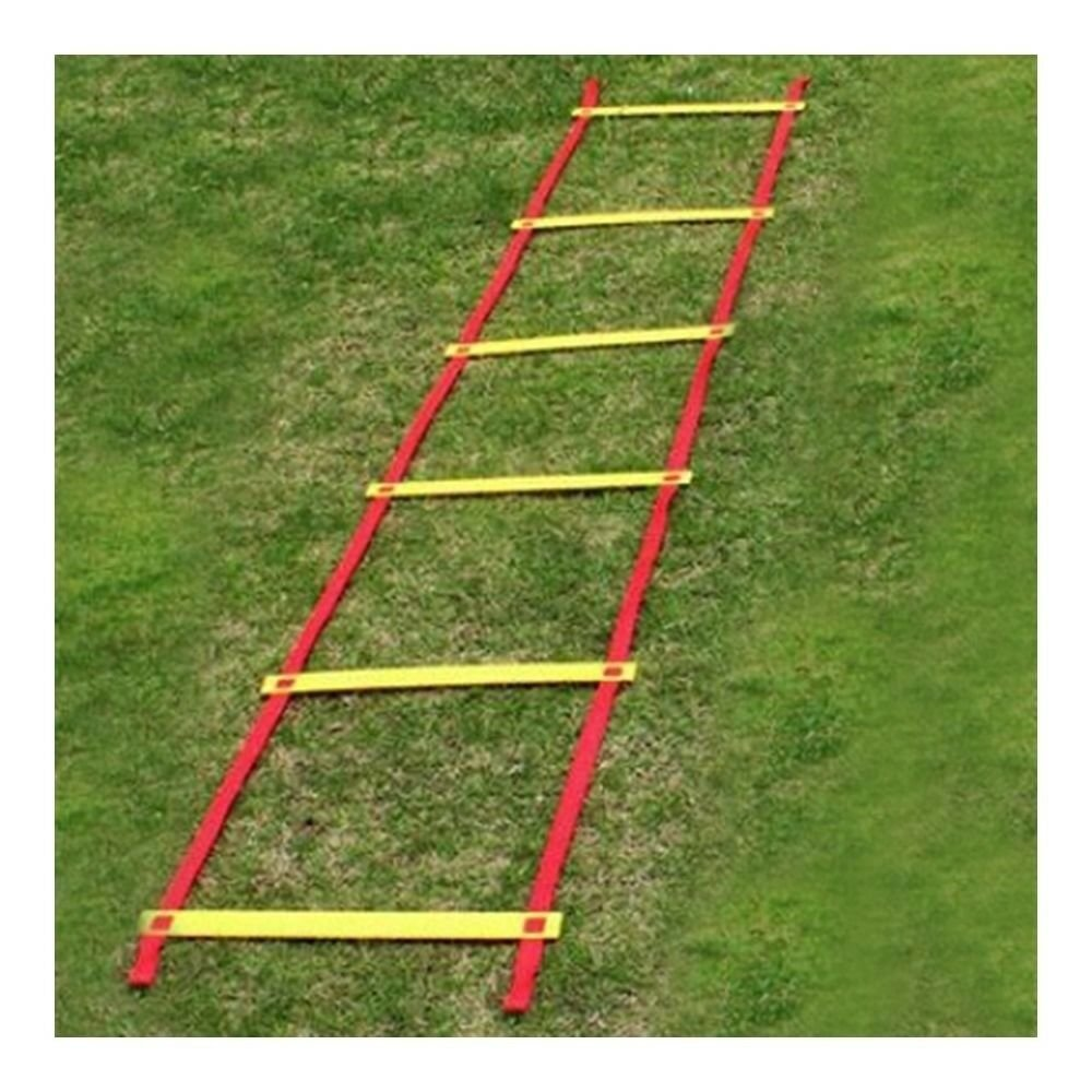3m 6pcs Soccer Football Soft Ladder Energy Speed Agility   Fitness Training