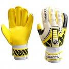 Latex Professional Goalkeeper Gloves Roll Finger    S