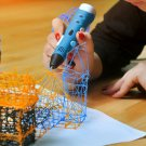 generation 3D stereoscopic 3D printing pen brush pen teaching with LCD display