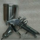 Aluminum Paint Air Spray Gun Gravity Feed 1.5mm Nozzle 400ml Cup