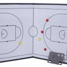 Foldable markers tactics coaching board Basketball Sport strategy board Coaches