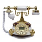 Vintage dail button Phone Chinese Resin Style Old Fashioned Handset Tele SZ-150