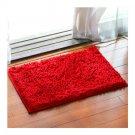 Chenille Carpet Non-slip Ground Door Mat   bright red   40*60cm