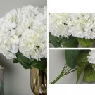 Various Color  Artificial Hydrangea Flowers  Home Bridal Wedding Party Decoratio