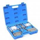 Bearing Separator Puller 12pcs Splitters Remove Bearings Kit