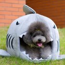 Shark Mouth Shape Pets House Bed For Dog Cat(M)