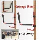 1Pair Kayak Ladder Strong Wall Mount Storage Rack Surfboard Canoe Folding Hanger