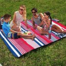 200X150cm Picnic Blanket Portable Waterproof Outdoor Camping Beach Mat